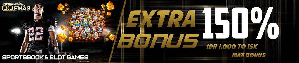 Extra Bonus 150%