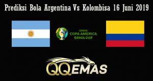 Prediksi Bola Argentina Vs Kolombisa 16 Juni 2019