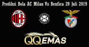 Prediksi Bola AC Milan Vs Benfica 29 Juli 2019