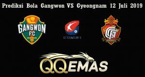 Prediksi Bola Gangwon VS Gyeongnam 12 Juli 2019