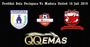 Prediksi Bola Perispura Vs Madura United 16 Juli 2019