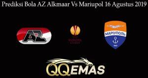 Prediksi Bola AZ Alkmaar Vs Mariupol 16 Agustus 2019