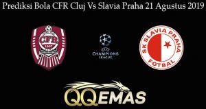 Prediksi Bola CFR Cluj Vs Slavia Praha 21 Agustus 2019