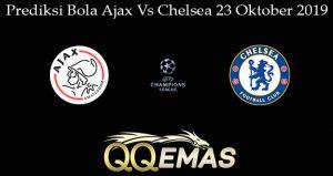 Prediksi Bola Ajax Vs Chelsea 23 Oktober 2019