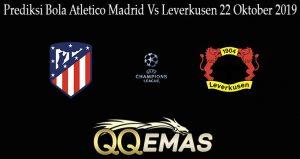 Prediksi Bola Atletico Madrid Vs Leverkusen 22 Oktober 2019