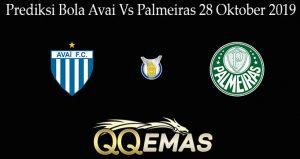 Prediksi Bola Avai Vs Palmeiras 28 Oktober 2019