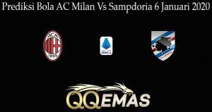 Prediksi Bola AC Milan Vs Sampdoria 6 Januari 2020