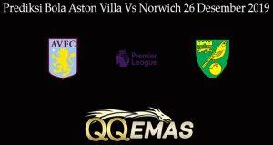 Prediksi Bola Aston Villa Vs Norwich 26 Desember 2019