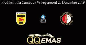 Prediksi Bola Cambuur Vs Feyenoord 20 Desember 2019