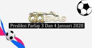 Prediksi Parlay Jitu 3 Dan 4 Januari 2020