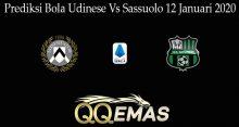 Prediksi Bola Udinese Vs Sassuolo 12 Januari 2020
