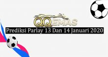 Prediksi Parlay Jitu 13 Dan 14 Januari 2020
